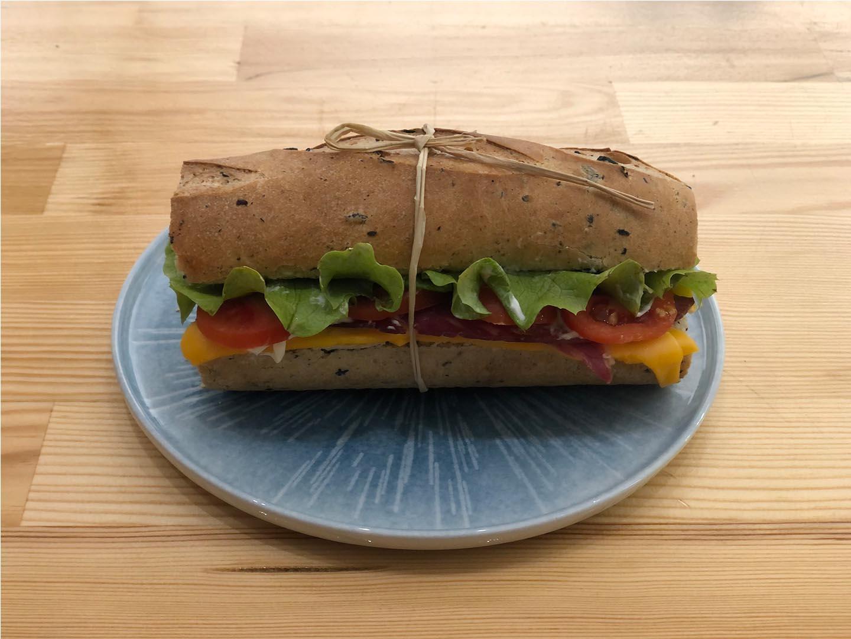 Pesto Baget Sandviç